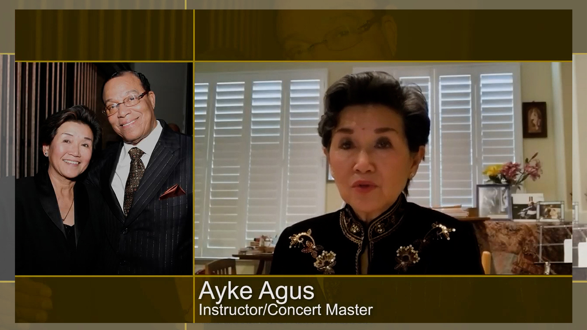Dr. Ayke Agus testimony of Minister Louis Farrakhan and The Beethoven Violin Concerto