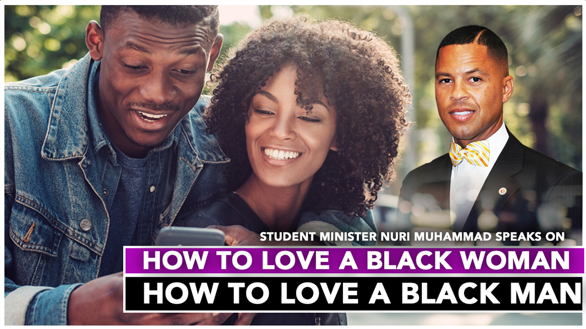 How To Love A Black Woman, How To Love A Black Man