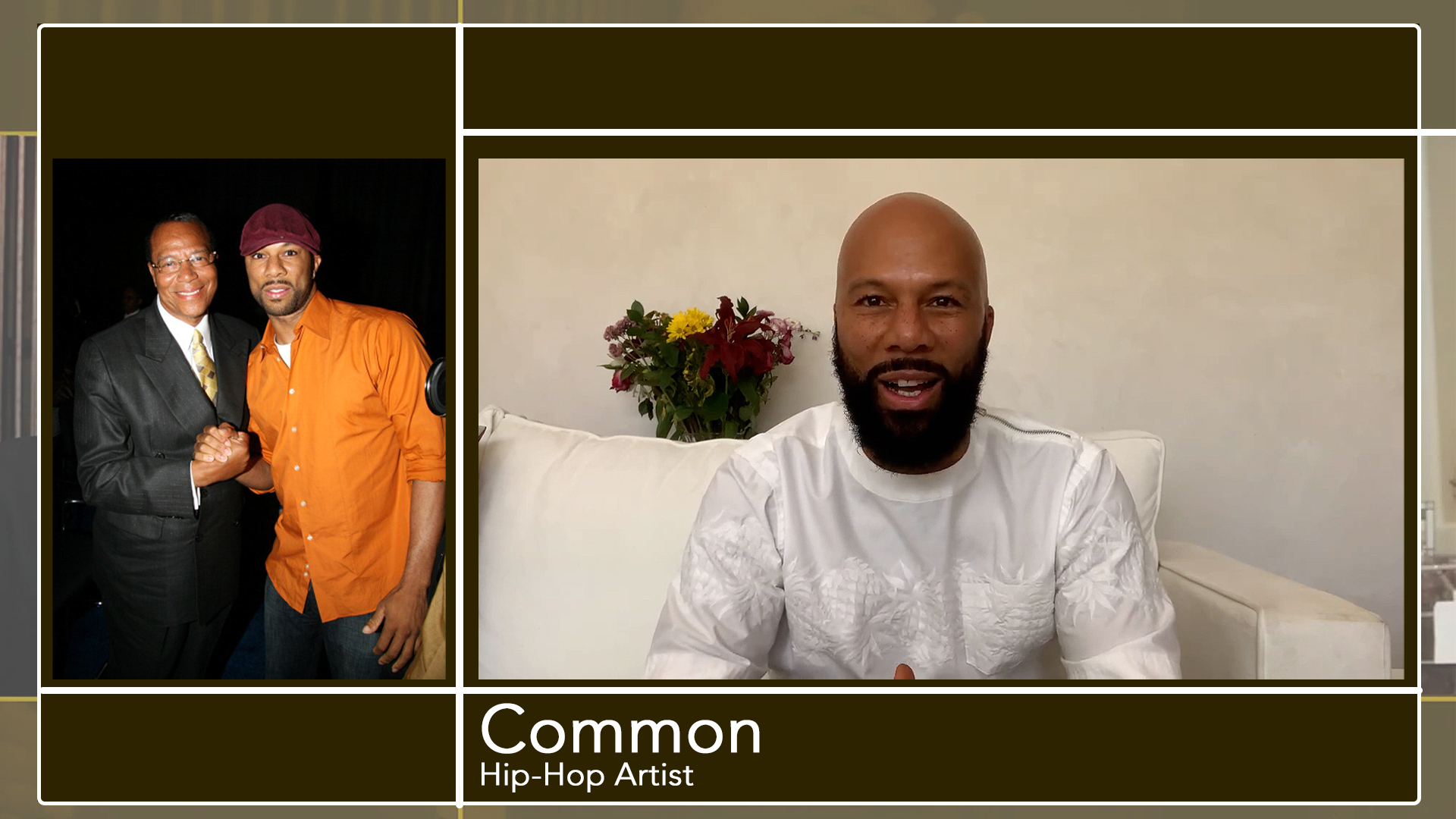 Hip Hop artist Common shares words on Minister Louis Farrakhan and The Beethoven Violin Concerto