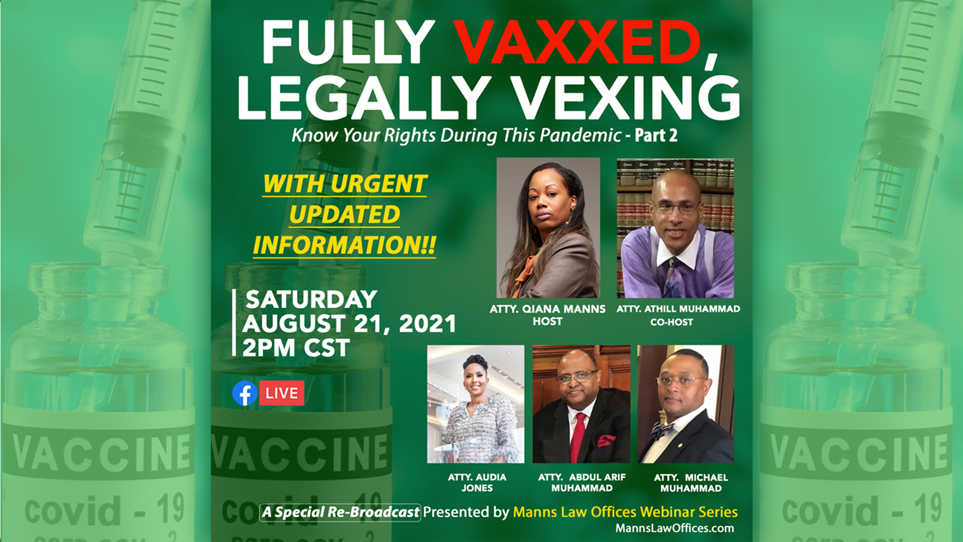 Fully Vaxxed, Legally Vexing: Know Your Rights During This Pandemic