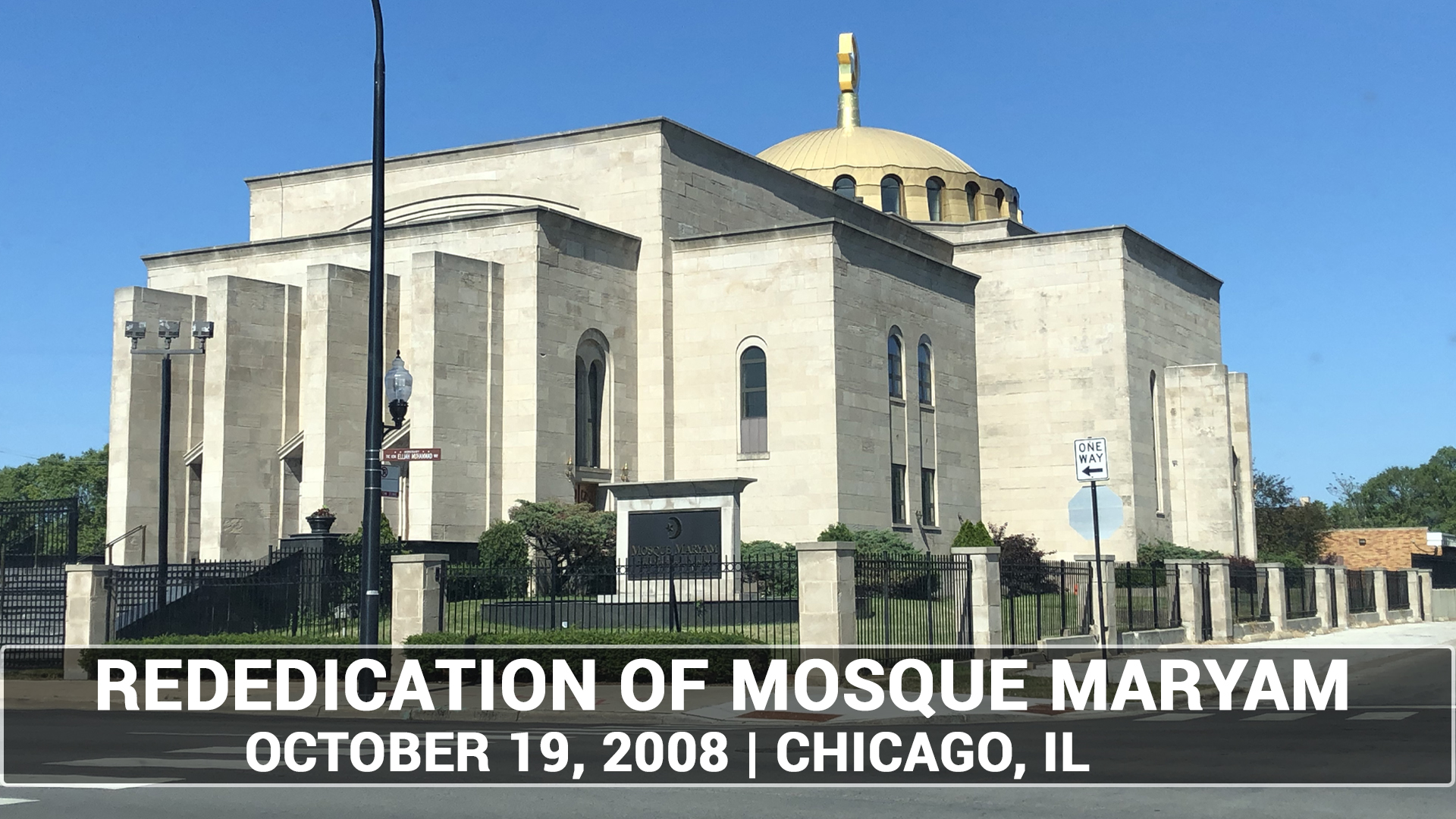 Minister Farrakhan Speaks at the Historic Re-dedication Ceremony of Mosque Maryam