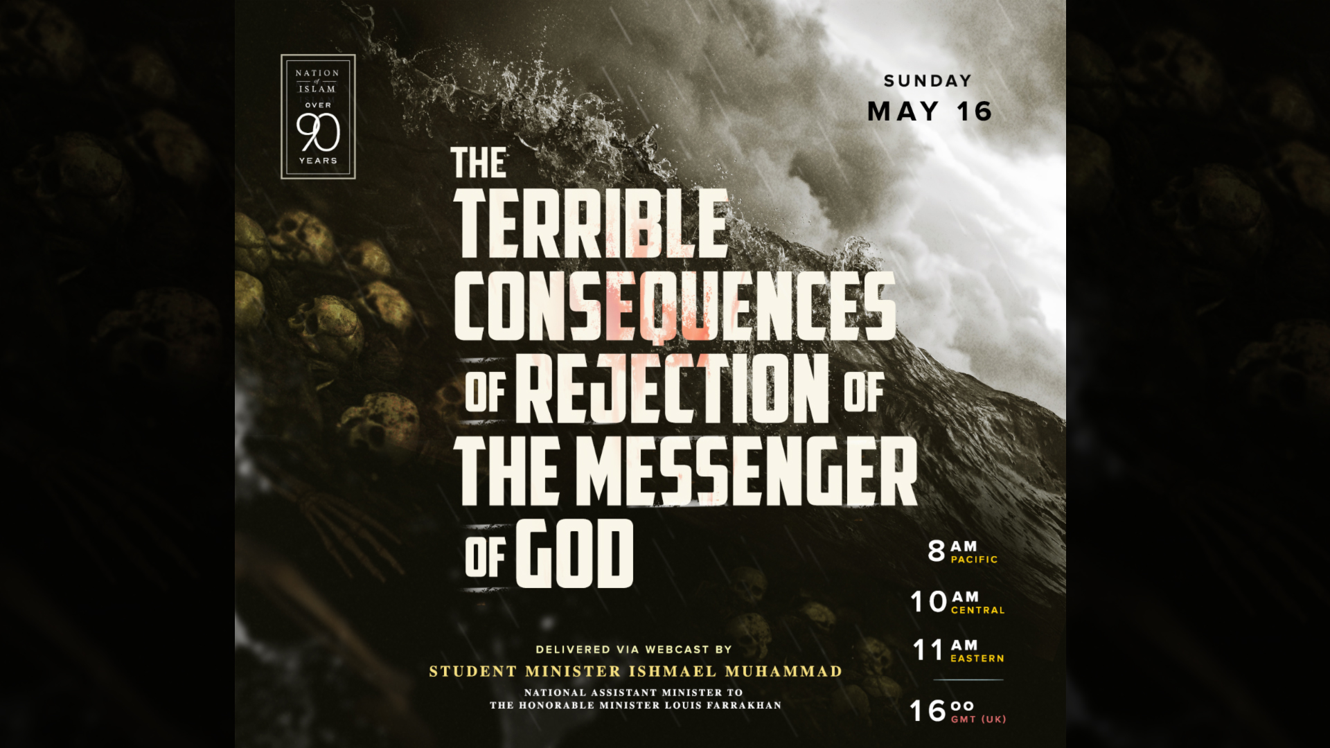 Terrible Consequences of Rejection of The Messenger of God