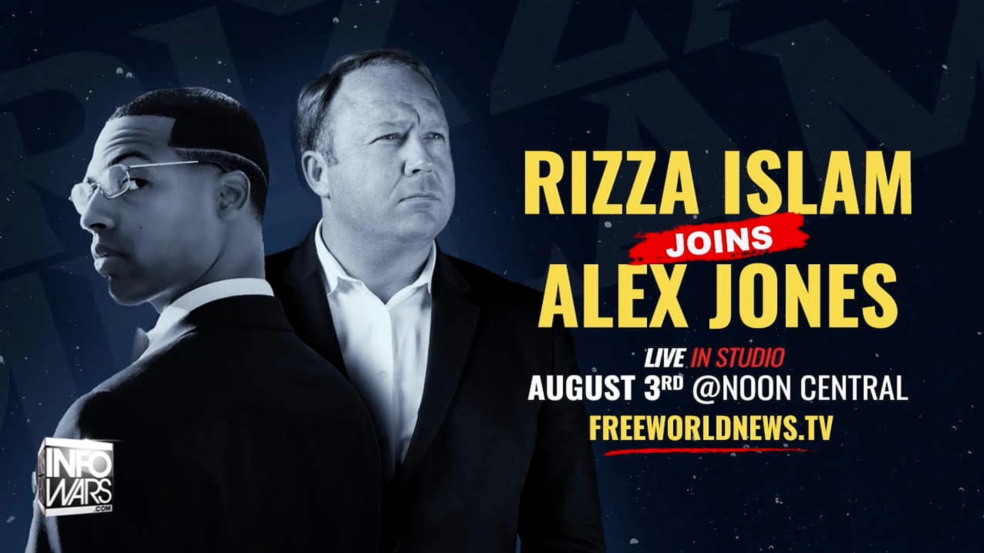 Rizza Islam On Info Wars With Alex Jones