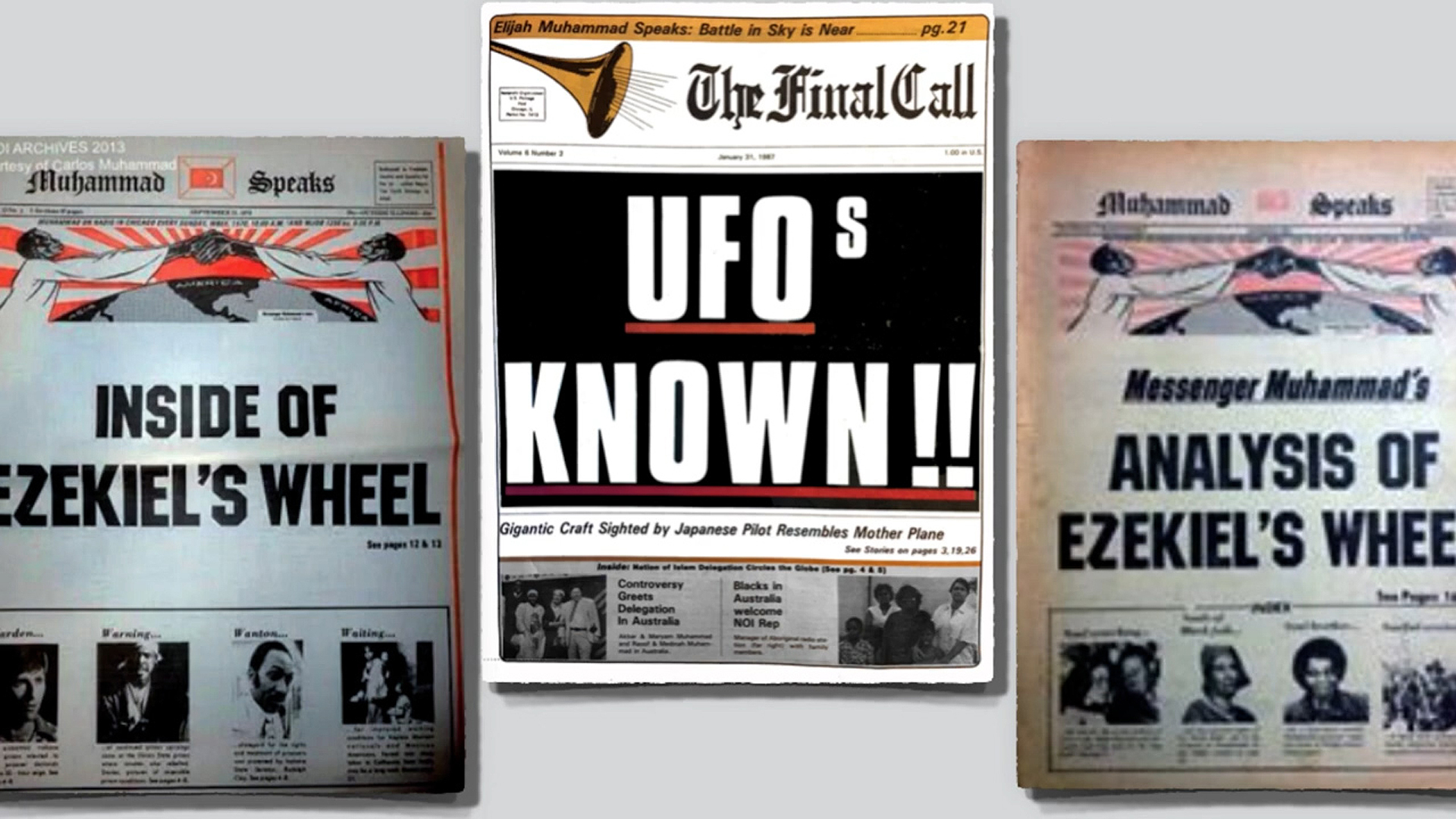 U.S. Government Fears Nation Of Islam UFO Disclosure