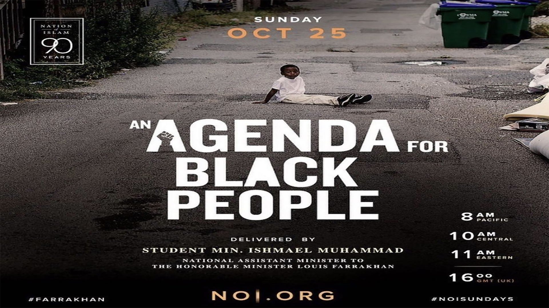 An Agenda for Black People