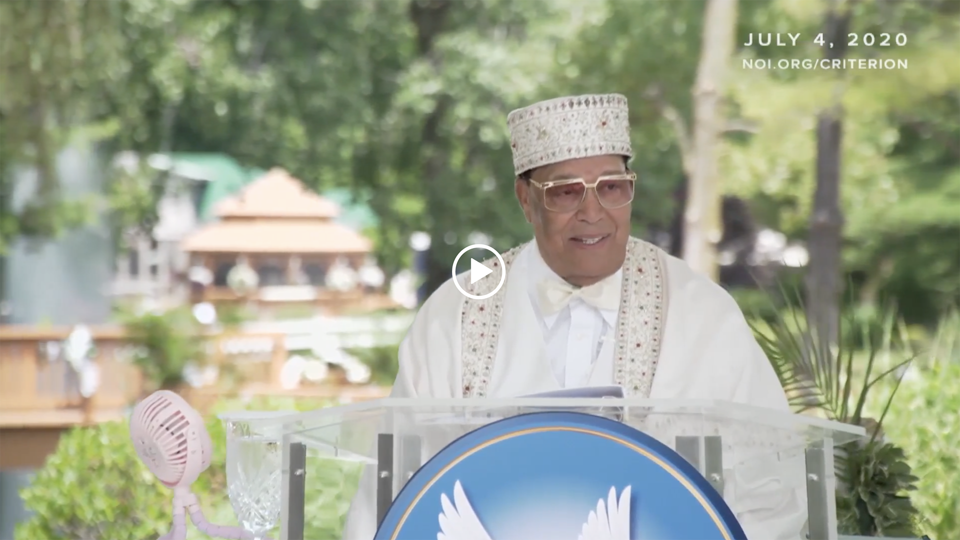 The Criterion: Who is Farrakhan?