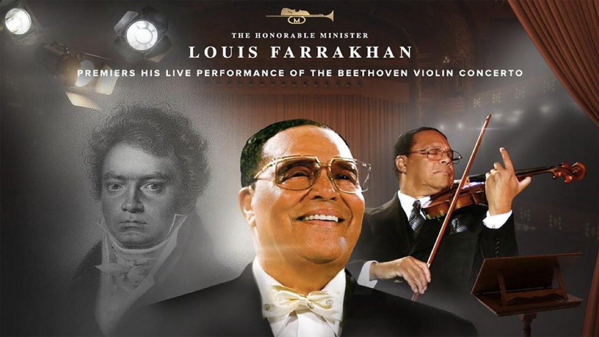 Minister Louis Farrakhan Performs the Beethoven Violin Concerto