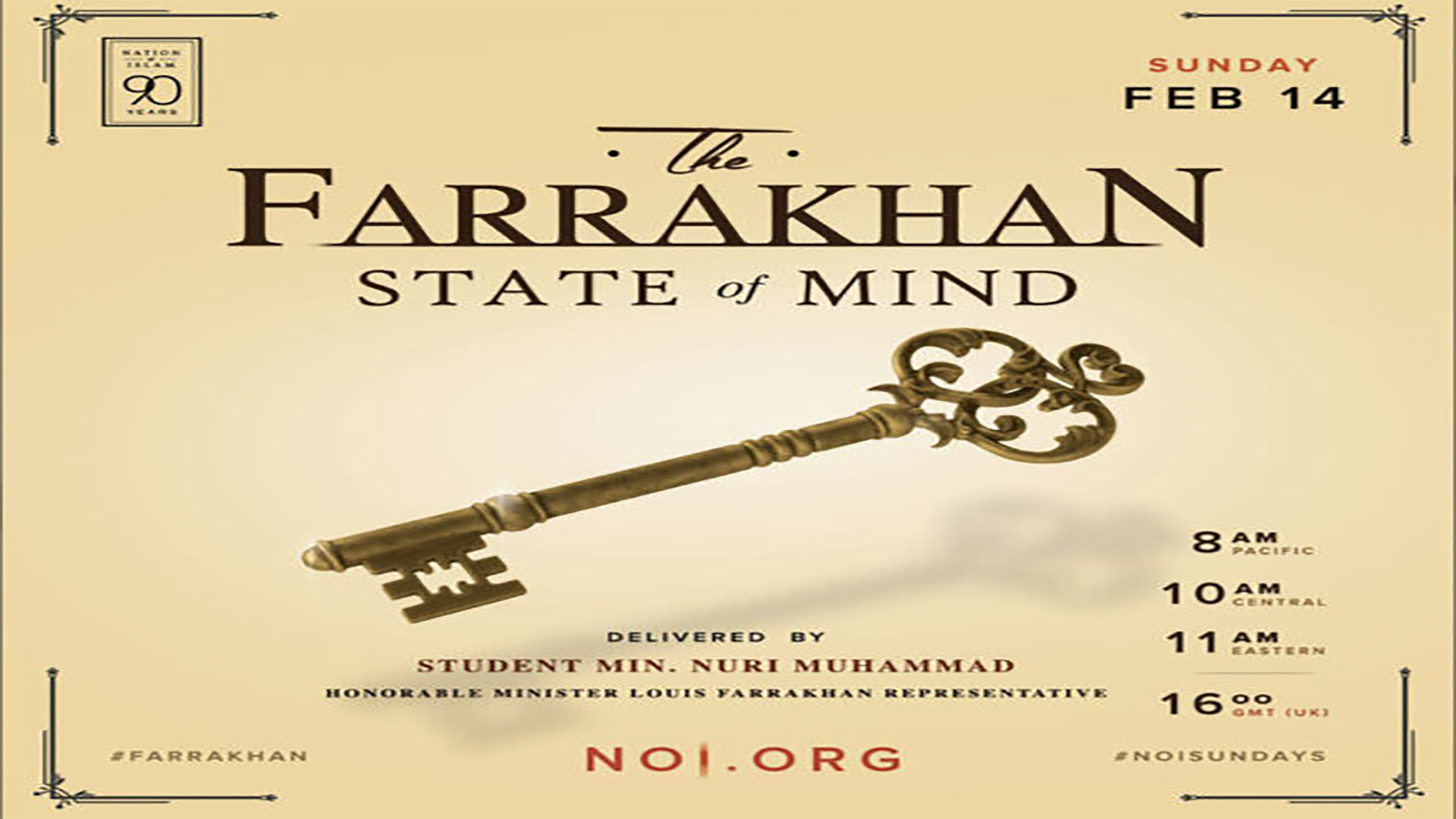 The Farrakhan State of Mind