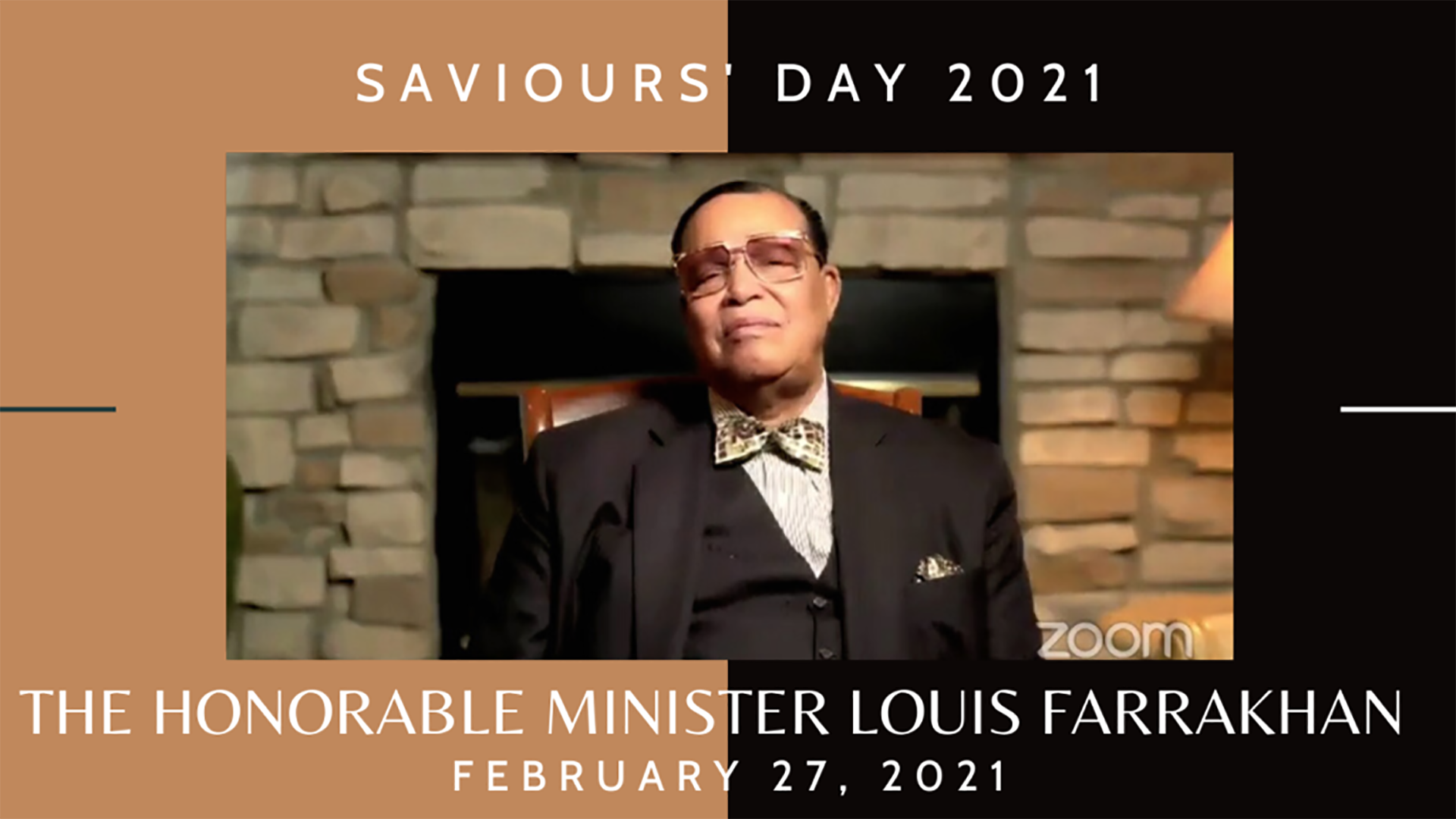 Minister Farrakhan Speaks at Saviours' Day 2021 COVID Vaccine Town Hall