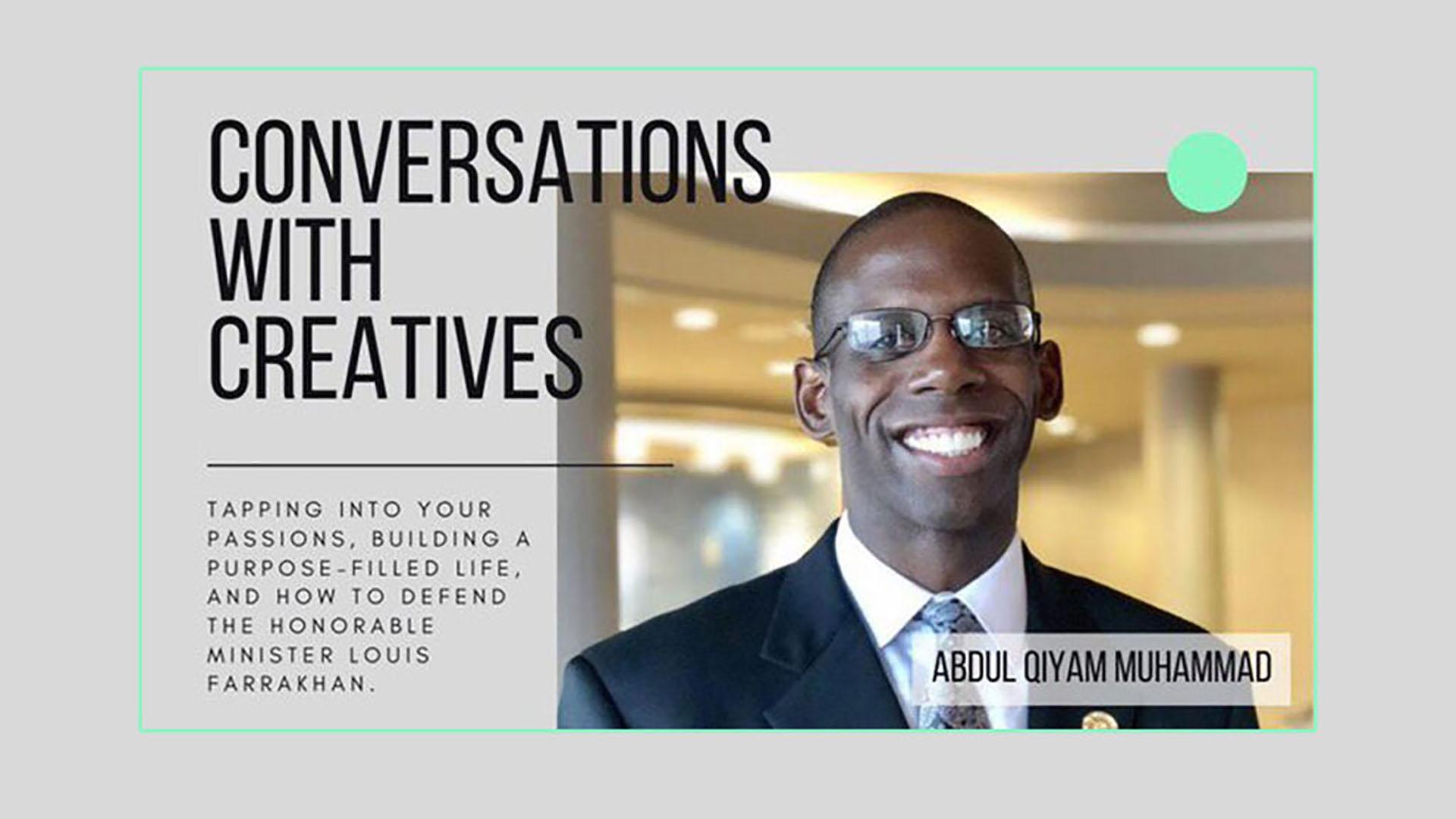 Joshua's Truth Conversations with Creatives – Abdul Qiyam Muhammad