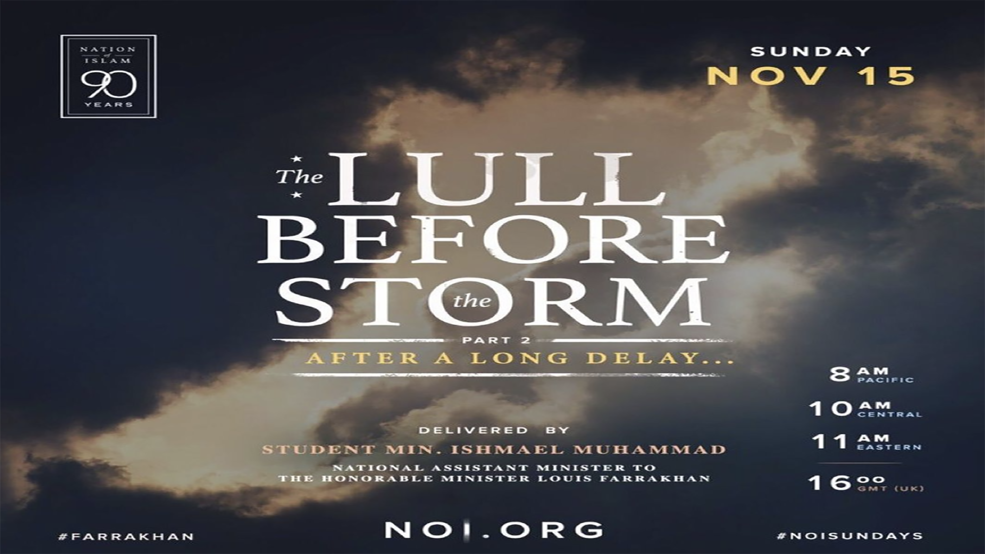 The Lull Before the Storm – Part 2
