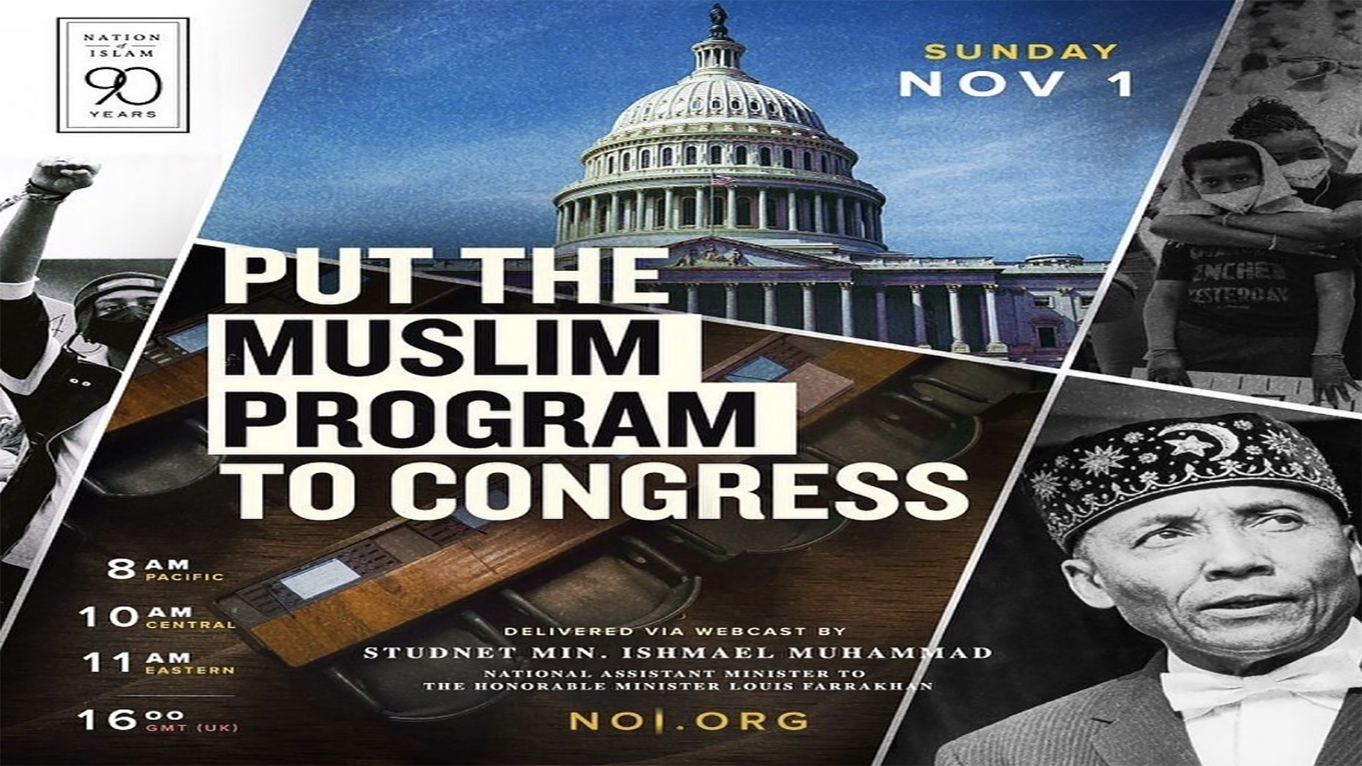 Put The Muslim Program To Congress