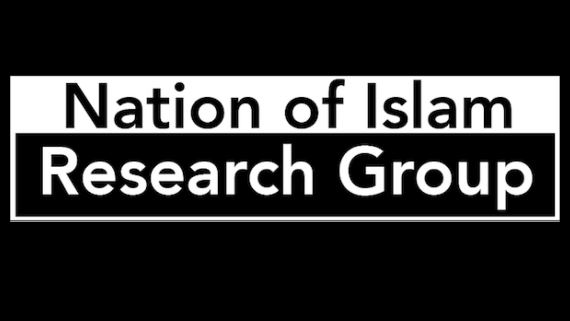 Nation Of Islam Research Group