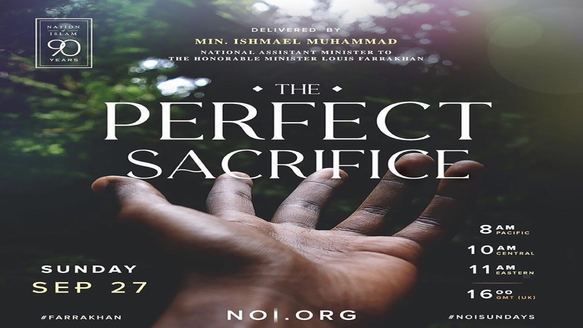 The Perfect Sacrifice