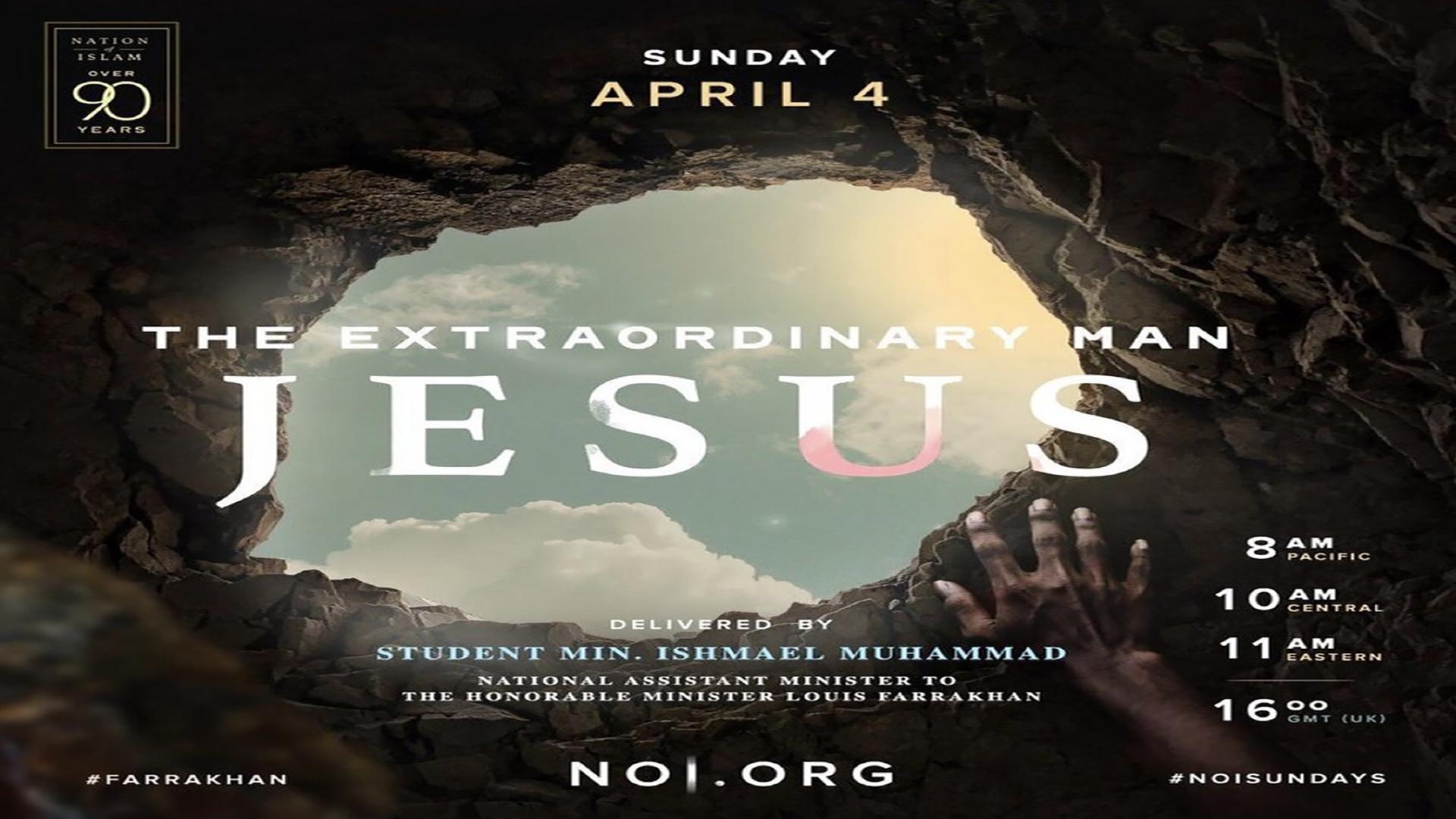 The Extraordinary Man Jesus